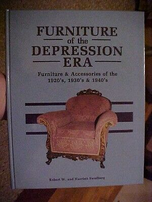 1987 BOOK, FURNITURE OF THE DEPRESSION ERA by Swedberg; ID VALUES