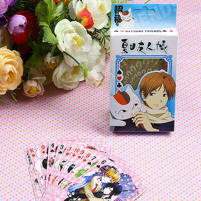 Natsume's Book of Friends Anime painting playing cards poker 54ps with box