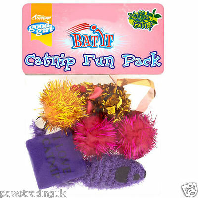 Armitage Goodgirl Catnip Fun Pack Value Pack of Cat /Kitten Toys