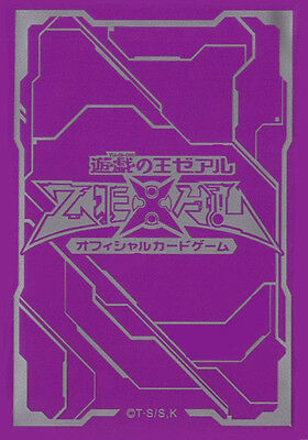 (100) YU-GI-OH Card Deck Protectors New ZEXAL Card sleeves Purple