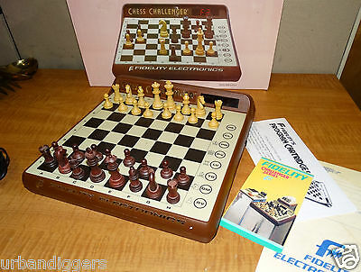 12020 NOS Fidelity Electronic Chess Challenger Game Computer IN BOX modular plug