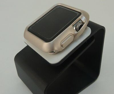 Gold  42mm Apple iWatch Slim Case Protective with 2 Free Screen Cover
