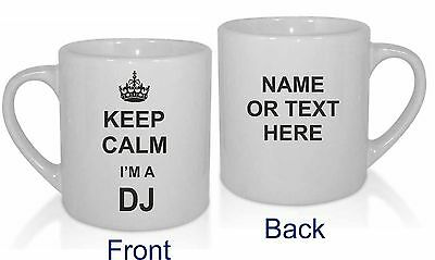 Home, Furniture & DIY DJ Your Name Personalised Design Coffee Mug Rave House Deejay birthday gift 123t diy mug