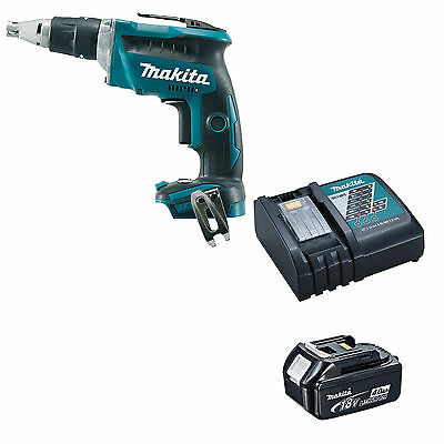 Makita 18V Lxt Dfs452 Dfs452Z Screwdriver, Bl1840 Battery And Dc18Rc Charger