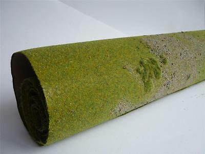 "48"" x 24"" Textured Field Battle Zone Wargaming Scenic Mat Terrain Wargames BZ1M"