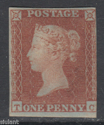 Gb - Gran Bretaña - One Penny Red - Sg.8  - Año 1841
