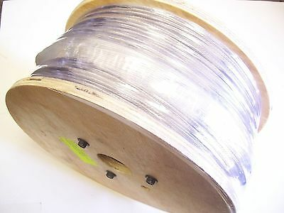 """Type 316 Stainless Steel Wire Rope Cable Strand, 1/8"""", 1x19, 1000 ft reel"""