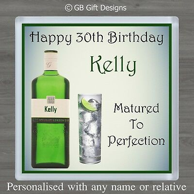 Gin and Tonic 85th Birthday Card Daughter Son Mum Brother Sister Friend Adult