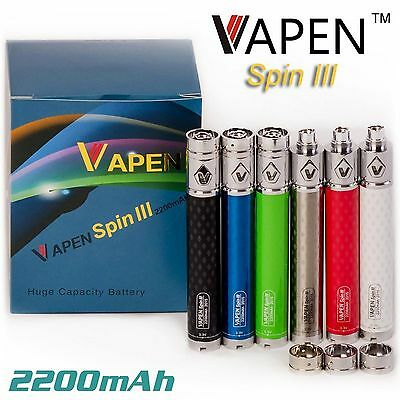 EGO SPINNER 2200 mAh -  VOLTAGE VARIABLE -