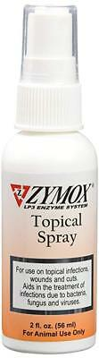 ZYMOX Topical Spray without Hydrocortisone Dog Cat Topical infections wounds