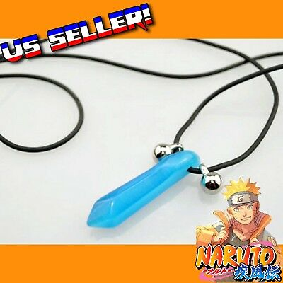 Naruto Shippuden Blue Lady Tsunade Hokage Crystal Necklace  Cosplay Anime Manga
