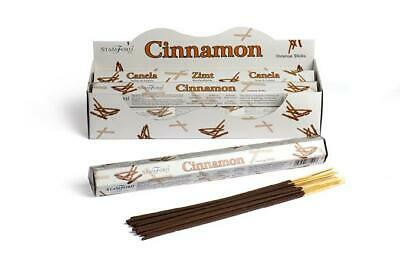 120 Sticks - Stamford CINNAMON  Incense Sticks (20 Sticks x 6 Tubes)-1228