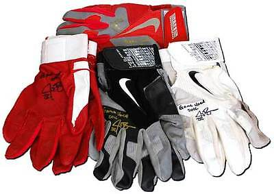 Game-Used Batting Gloves Signed and Authenticated by Jay Bruce - 1 Pair