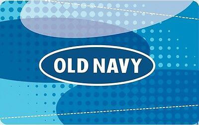 Old Navy Gift Card- $50 Mail Delivery