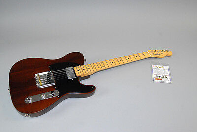 Fender Limited Edition American  50's Tele Reclaimed Redwood