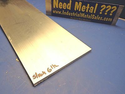 "5/16"" x 6-1/2"" x 12""-Long 6061 T6511 Aluminum Flat Bar-->.312"" x 6.5"" 6061 Flat"