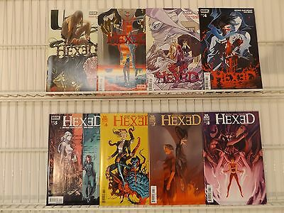 Hexed #1,2,3,4,5,6,7,8 from Boom Studios in Avg VF-NM Condition!!