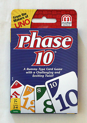 NEW Phase 10 Card Game