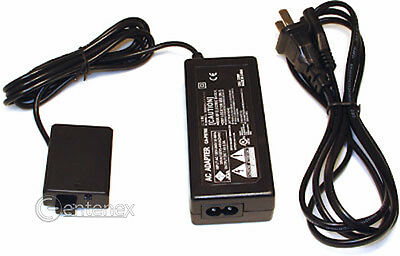 AC Power Supply Adapter + Coupler for Canon ACK-E5 T1i XS XSi DR-E5 *SHIPS USA*