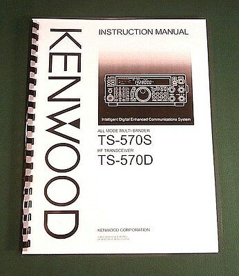 Kenwood AT-250 Service /& Instruction Manuals Card Stock Covers /& 28lb Paper