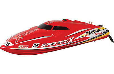 Joysway Super Mono X Brushless ARTR RC Boat - Red 2.4GHz