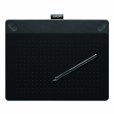 Wacom Intuos Art Pen and Touch Digital GraphicTablet Medium in Black PC and Mac