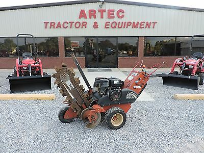 2008 Ditch Witch 1330 Trencher - Good Condition - Good Combo Chain!!