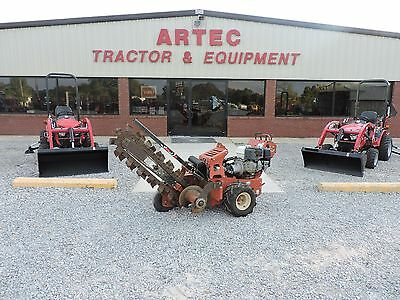 2010 Ditch Witch Rt12 Trencher - Low Hours - Good Condition - Self Propelled!!