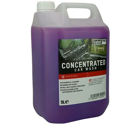 ValetPro Concentrated Car Shampoo 5 Liter,  4,79 EUR / Liter