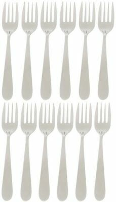 Stanley Rogers Albany 12 Piece Fruit Fork Cutlery Set Quality Stainless Steel