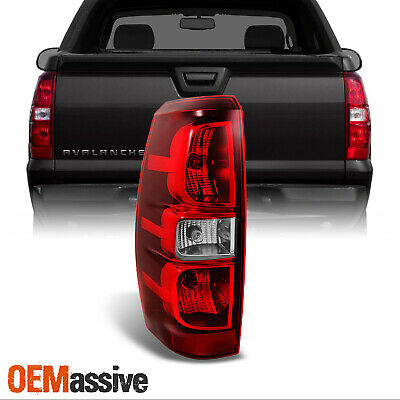 Fit 2007-2013 Chevy Avalanche Driver Left Side Rear Tail Light Brake Replacement