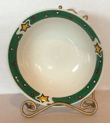 Gibson Designs Christmas Treasures Soup Cereal Bowl(s) Excellent Pieces