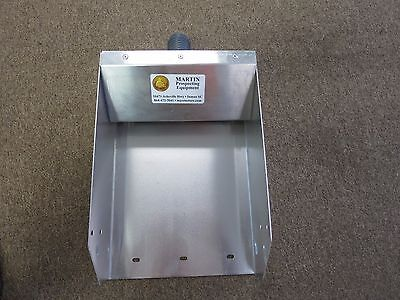 "New Martin Power Sluice Header Box Fits 10"" to 10 1/4"" Sluice Box MADE in SC"