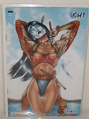 SHI: POISONED PARADISE #2 - Platinum Foil Incentive Cover - BILLY TUCCI - Avatar