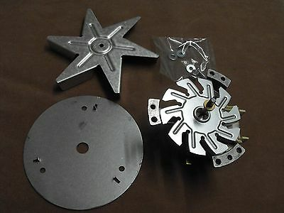 0214777077: Chef Fan Forced Oven Fan Motor Kit GENUINE