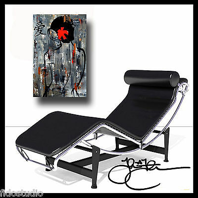 Abstract print giclee Modern Decor Nude HUGE Canvas WALL Art Fidostudio