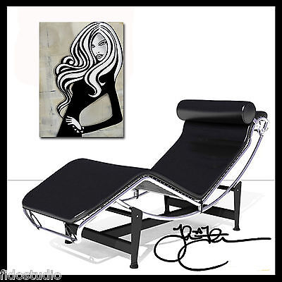 Abstract cnavas print Modern Decor Woman HUGE pop giclee WALL Art Fidostudio