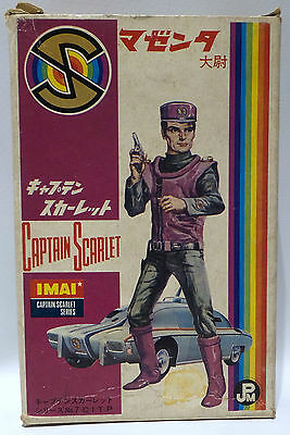 Captain Scarlet : Vintage Captain Ochre Modle Kit Made By Imai Circa 1960's (By)