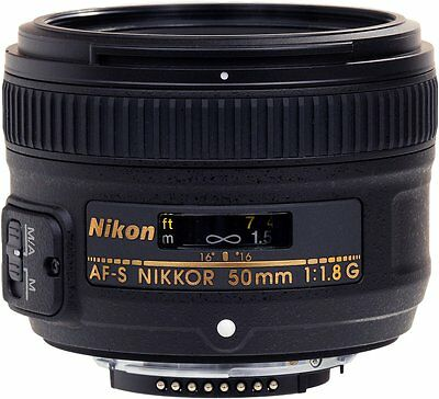 Nikon AF-S Nikkor 50mm f/1.8G Lens Brand New Retail Packaging