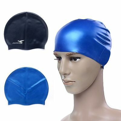 New Swim Cap Silicone Bathing Durable Elastic Hair Protection For Kid
