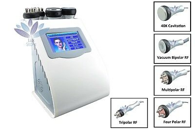 5in1 Vacuum RF Radio Frequency Cavitation Dissolve Fat Loss Beauty Machine