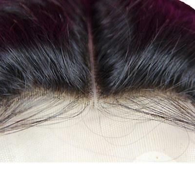 Unprocessed Lace Top Closure 100% Brazilian Remy Virgin Hair Wave Straight 4*4''