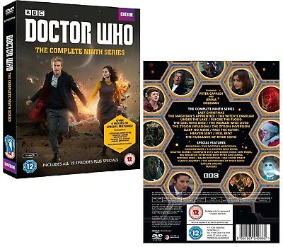 DR WHO 2014-2015 Series 9+2x Christmas Doctor Peter CAPALDI Season R2 DVD not US
