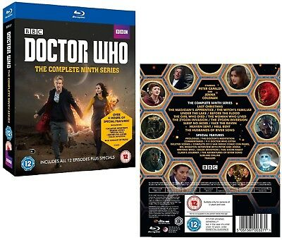 DR WHO 2014-2015 Series 9+2x Christmas Doctor Peter CAPALDI Season Reg.B BLU-RAY