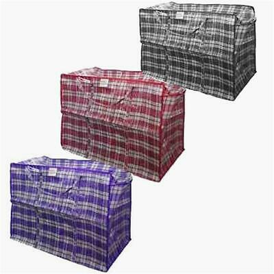 5 X Large Reusable Laundry And Storage/ Shopper Bag classic Design @ £ 6.29