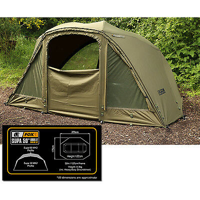 "Fox Supa Brolly 50"" Compact MK2 System *Brand New for 2016* CUM174"