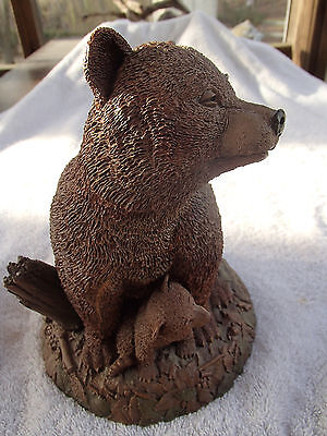 "Mama's Pride, 9"" Tall X 6.5"" Wide, Has C.o.a. & Character Description, Signed"