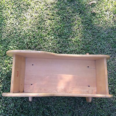 Heavy, Solid Wood Baby Cradle. Johnti Craft. Baby Bed.