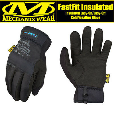 Genuine Mechanix FastFit Insulated Touchscreen Cold Weather Easy-On Gloves