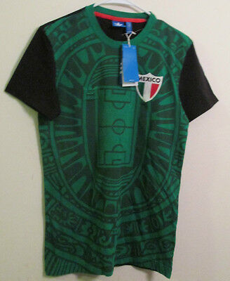 Adidas Mexico National Soccer T-Shirt World Cup Men Size Small